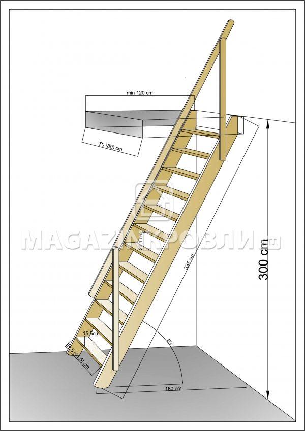 Строить лестницу своими руками