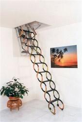 Раздвижные металлические чердачные лестницы Oman