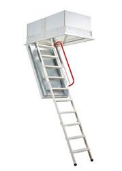 Лестницы для крыш OMAN с автоматическим открыванием
